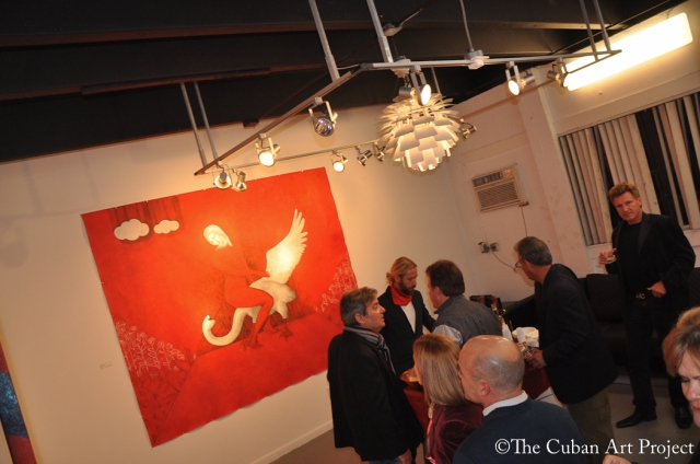 Passion Red Miguel Rodez Art Exhibit-Photos by The Cuban Art Project-31