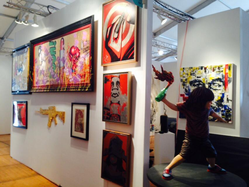 Blink Group Exhibits  Miguel Paredes @ Spectrum Art Fair 2014